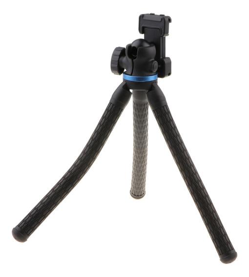 Leve Flexível Tripé De Câmera Monopé Com 1/4 Polegada Bola C