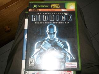 Juego Exbox Clasico Origuinal Riddick