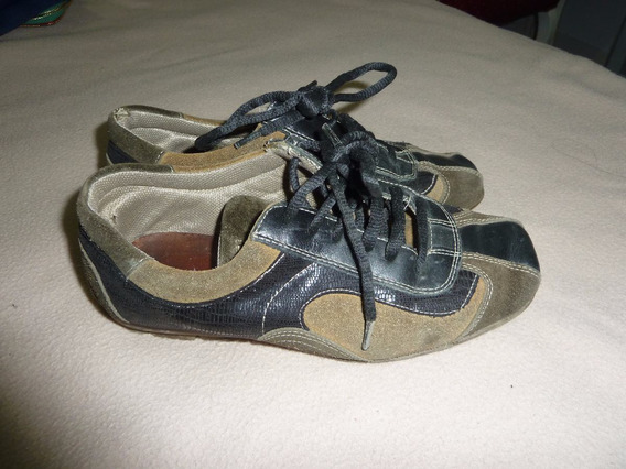 Zapatos Boating Mocasin Talle 35! Mujer