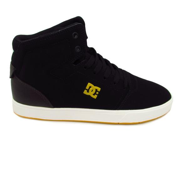 Tenis Dc Shoes Crisis High Adys100032 Xkck Black Brown Piel