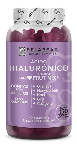 Suplemento Ácido Hialurónico 150 Gomitas Hidratante Belabear