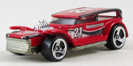 G11 1/64 Hot Wheels Demon 2001 Pro Racing 32 Ford Lil Coffin