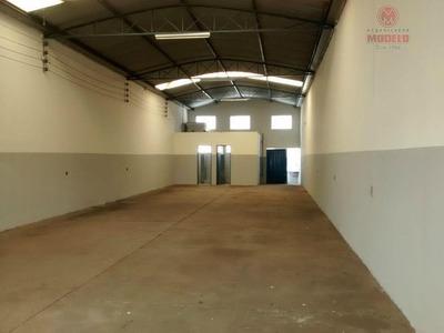 Barracão Comercial Para Locação, São Vicente, Piracicaba. - Ba0039
