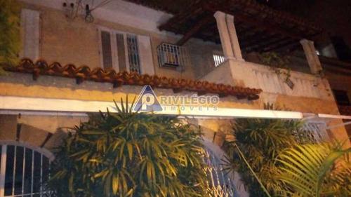 Casa De Rua À Venda, 4 Quartos, 1 Suíte, 3 Vagas, Tijuca - Rio De Janeiro/rj - 19178