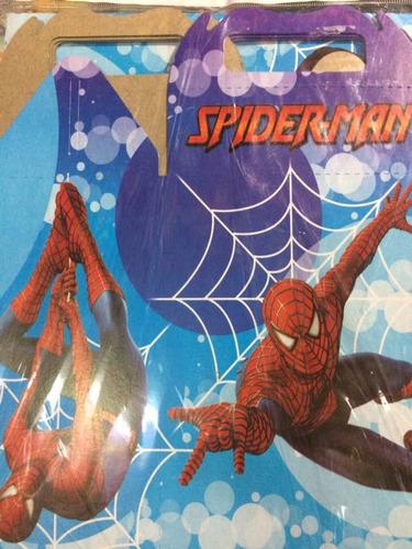 Imagen 1 de 2 de 10 Cajas Dulcero Spiderman Hombre Araña Bolo