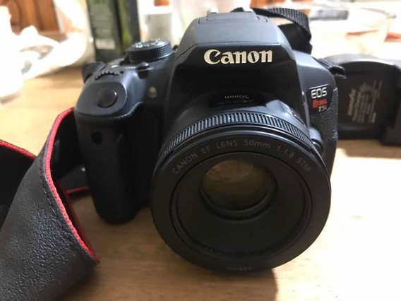 Canon T5i + Lente 50 Mm Nova