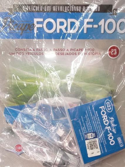Coleção Picape Ford F100 Fascículo 23 Salvat Pick Up