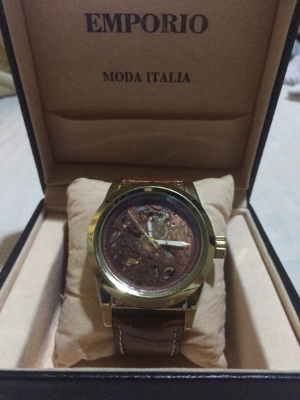 Relógio Automático Emporio Moda Itália (importado)