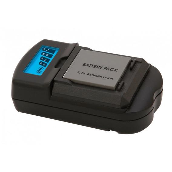 Carregador De Baterias Canon Visor Lcd Vivitar Vivsc3100c
