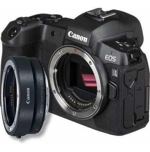 Canon Eos R Corpo + Adaptador De Lente Ef Efs