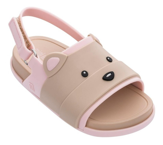 Sandália Mini Melissa Beach Slide Sandal Bear