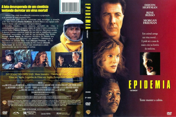Dvd Epidemia - Morgan Freeman - Dustin Hoffman 1995