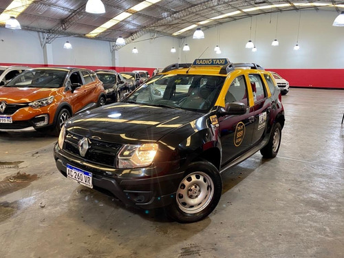Renault Duster 1.6 Expression 2018 Taxi C/licencia