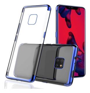 Huawei Mate 20 Pro Capinha Case Em Silicone Vermelha Ou Azul