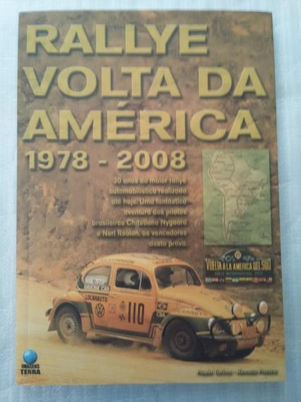 Livro Rallye Volta Da América 1978-2008
