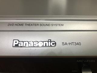 Home Theater Panasonic Sa-ht 340