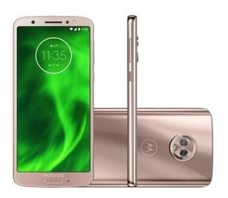 Motorola Moto G6 32gb - Ouro Rosê - Produto Usado!