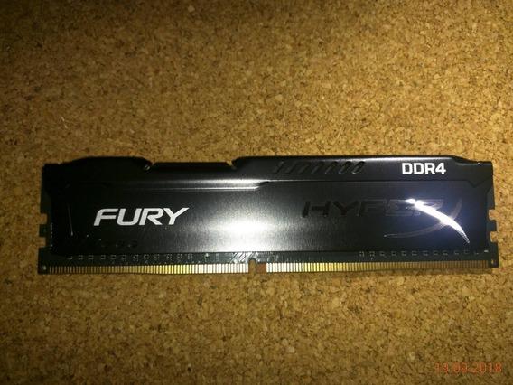 Memoria Ram Hyperx Fury Black 4gb 2133mhz Ddr4 (39 Vrds)