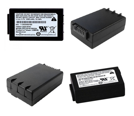 Kit20 Bateria Honeywell Coletor D Dados Dolphin 6500 3300mah