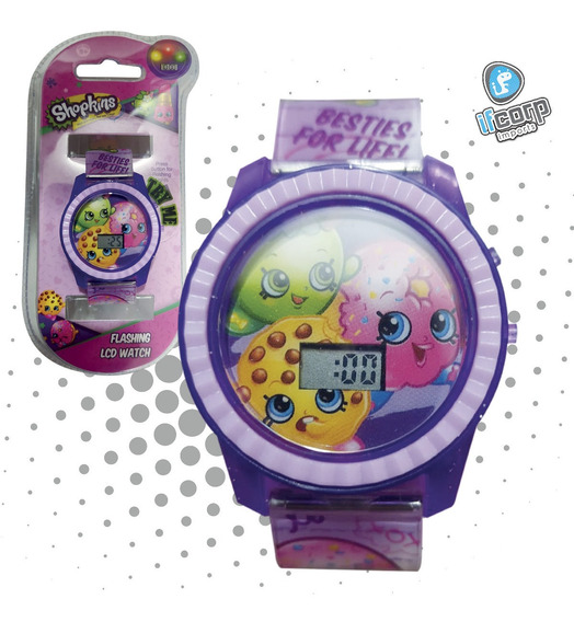Reloj Niña Shopkins Morado Digital