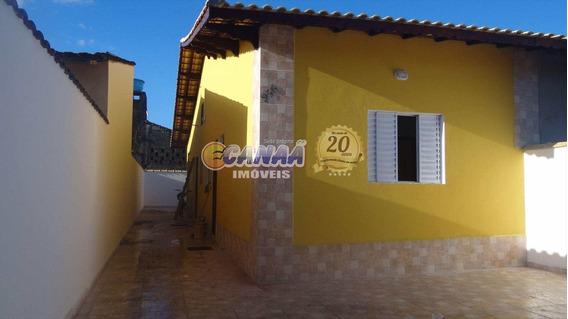 Linda Casa Em Mongaguá À Venda ! Ref: 7703 D