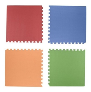Tapete Reversible 1.48 M2 Varios Colores 4 Piezas