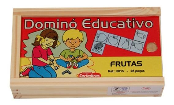 Jogo De Dominó De Frutas - Carimbrás