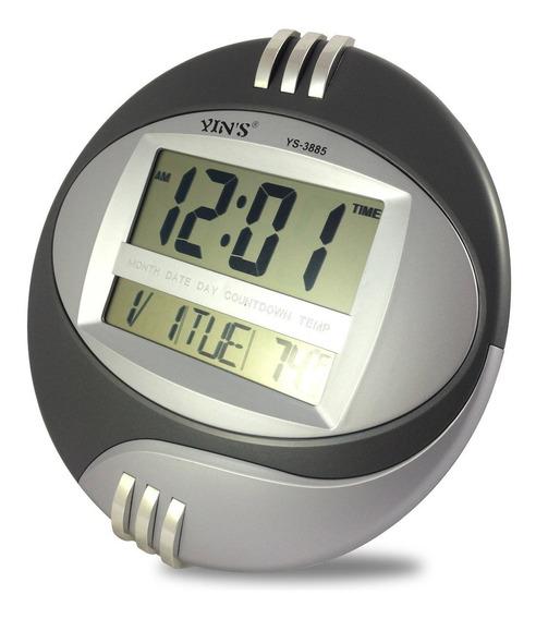 Relógio Digital Kd-3806n Casa,escritório,oficina,parede,mesa