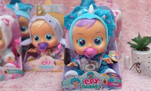 Imagen 1 de 7 de Cris Babies Bebés Lloron De Verdad Sonidos Con Su Chupete