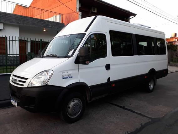 Iveco Daily Anticipo 1500000 Y Cuotas, Pto, 19+1, Permuto