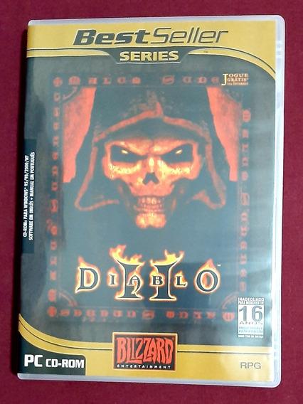 Pc Cd-rom Game Diablo Il (3 Discos) + Diablo Illl (1 Disco)