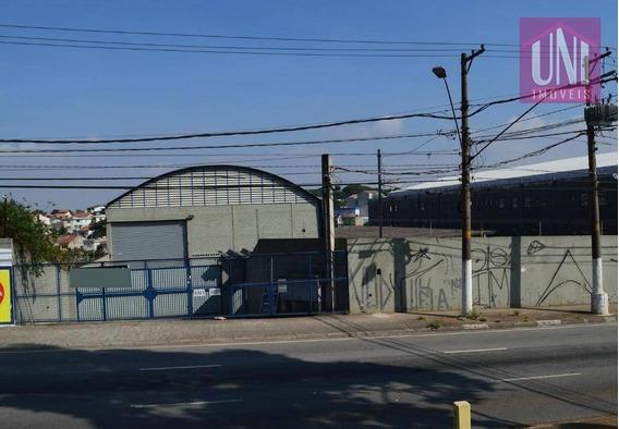 Galpão Para Alugar, 600 M² Por R$ 9.000/mês - Parque Capuava - Santo André/sp - Ga0132