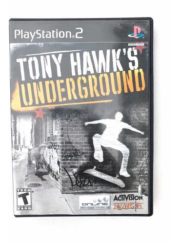 Imagem 1 de 4 de Tony Hawks Underground  Ps2 Mídia Física Original Americano