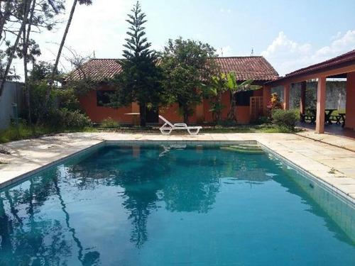 Casa Lado Praia Com Quintal E Piscina - Itanhaém 3962   Npc