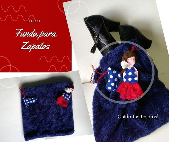 Funda O Bolsa Para Zapatos De Flamenco