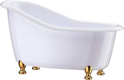 Mini Banheira Decorativa Poliestireno Boccati 7 X 13 X 6 Cm