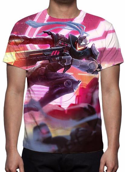 Camiseta League Of Legends - Projeto Lucian