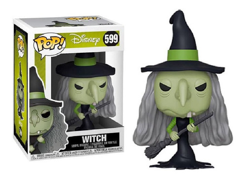 Funko Pop Disney Nbc - Witch 599. Original Wabro