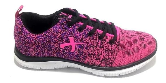 Zapatillas Jaguar 9024 Deportivas Running Crossfit Mujer