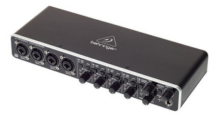 Interface De Audio Behringer U-phoria Umc404 Hd