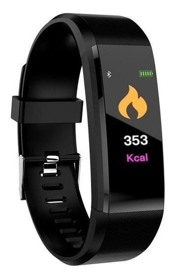 Relógio Inteligente Pulseira Smartwatch Bluetooth Id115