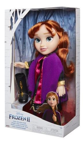 Imagen 1 de 2 de Frozen 2 Muñeca Aventurera Anna