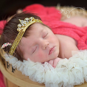 Tiara Princesa Bebê Ensaio Fotográfico Newborn