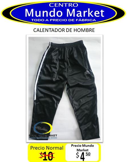 Mundo Market Calentador Pantalón Deportivo De Hombre