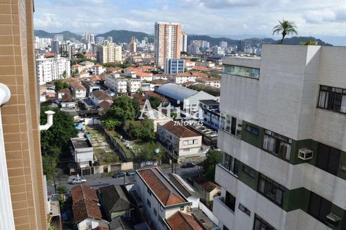Apartamento Com 2 Dorms, Estuário, Santos - R$ 402 Mil, Cod: 2370 - V2370