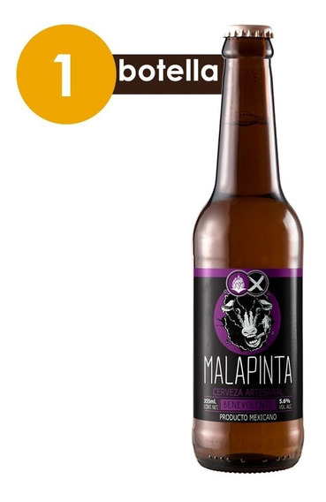 Cervexxa Cerveza Artesanal Malapinta Bondadosa