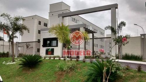 Apartamento À Venda, 45 M² Por R$ 130.000,00 - Jardim São Francisco - Piracicaba/sp - Ap2466