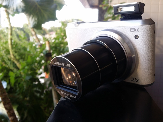 Câmera Fotográfica Samsung Wb350f Wifi
