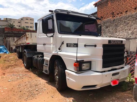 Scania 112h Motor E Pneus Novos