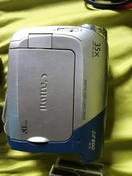 Filmadora Canon Zr800 Mini Dv
